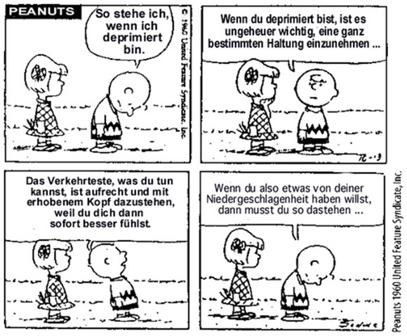 Depression nach Charlie Brown