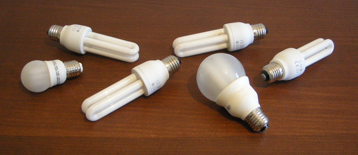 Sogenannte Energiesparlampen