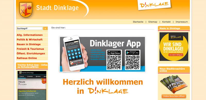 Homepage · Stadt Dinklage (11.12.2014)