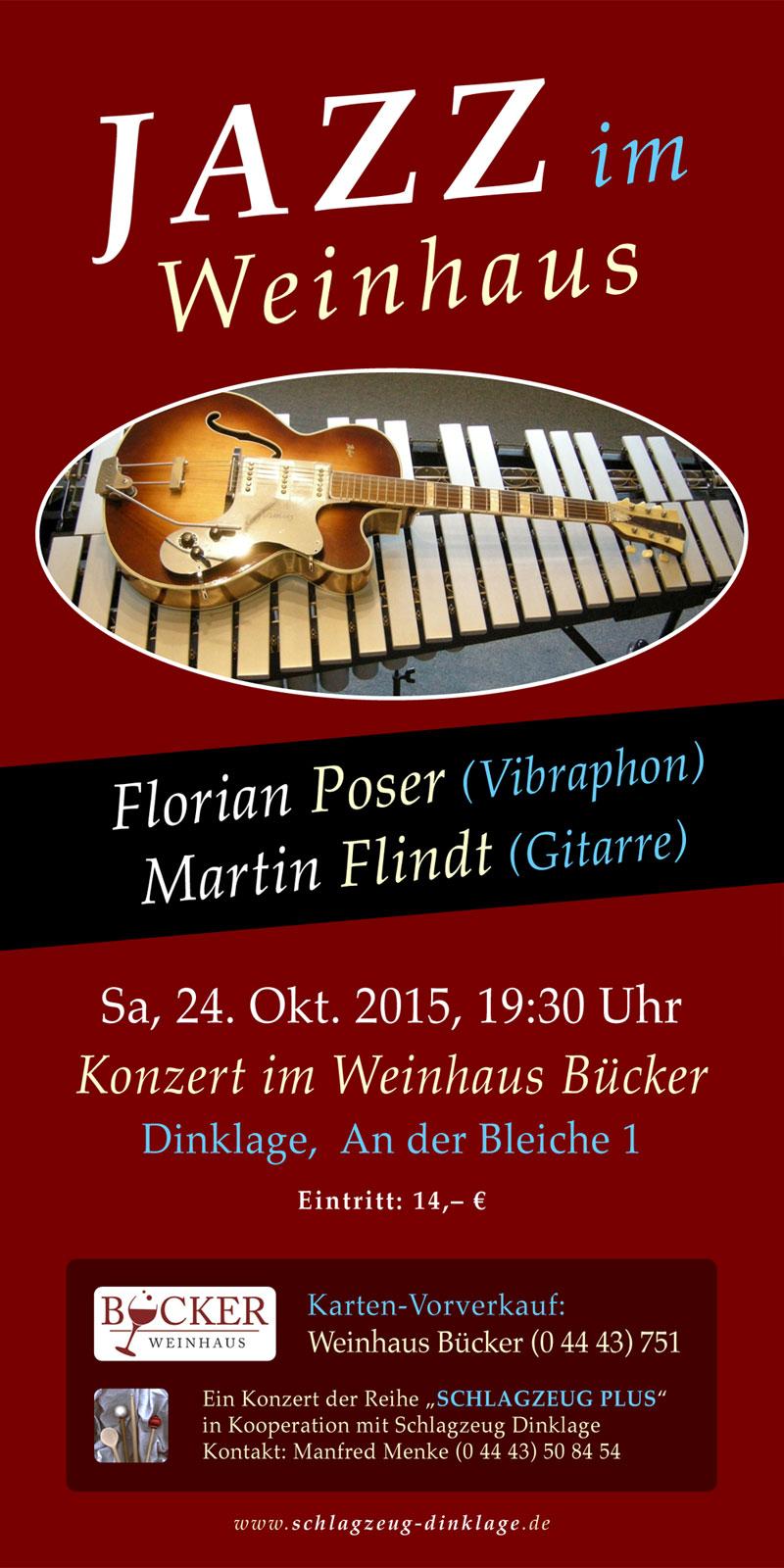 Flyer · JAZZ im Weinhaus