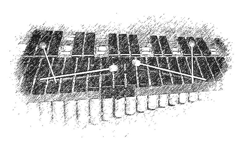 Marimba-Graphik