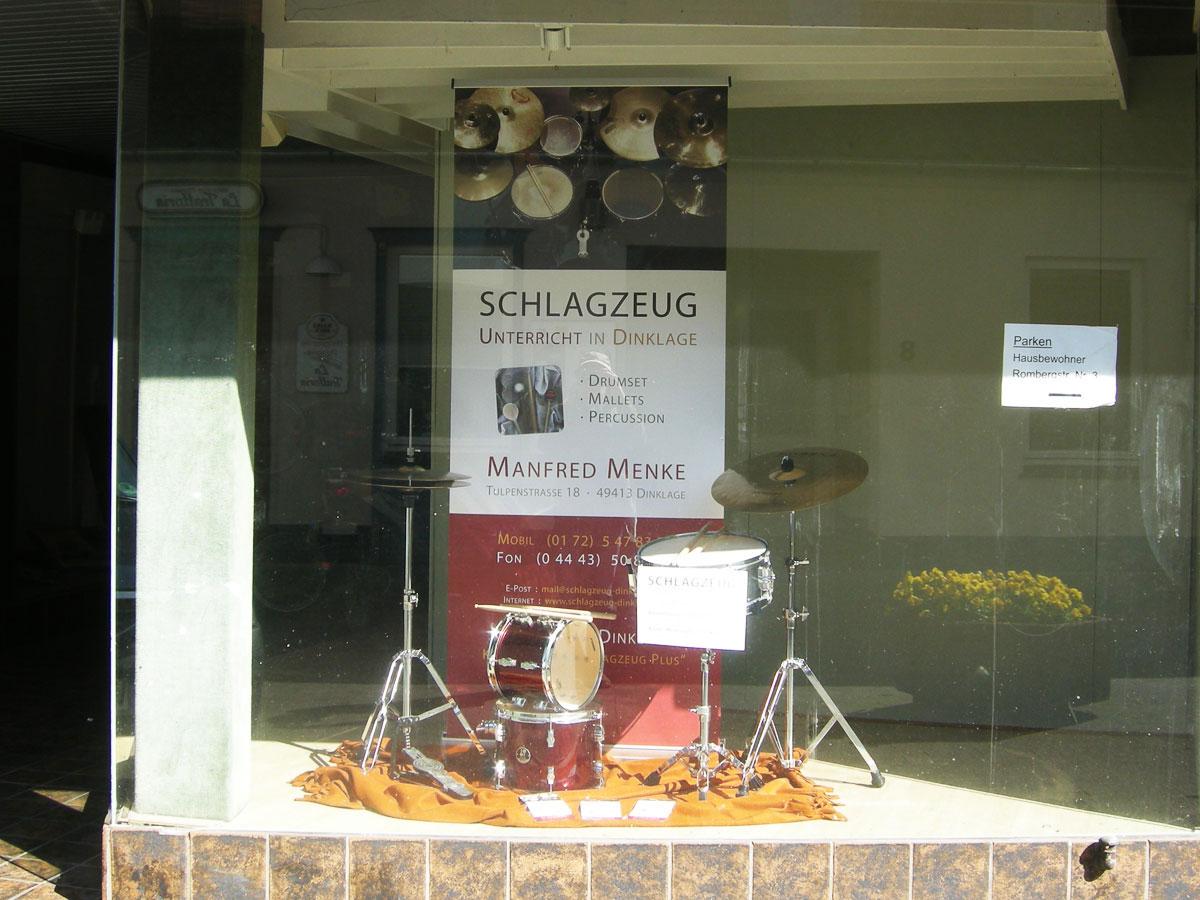 Schaufenster an der Rombergstraße