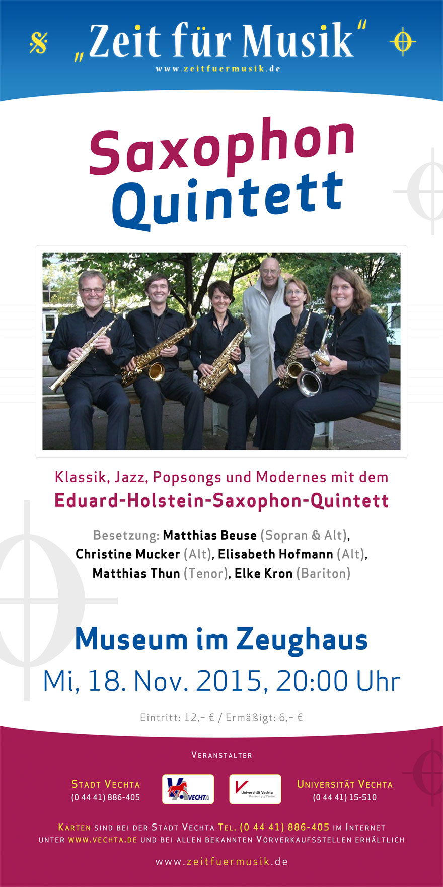 Saxophon-Quintett