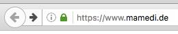 HTTPS-Umstellung