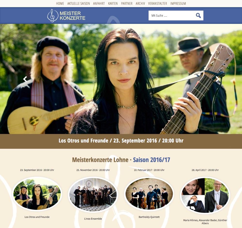 Meisterkonzerte Lohne 2016/17