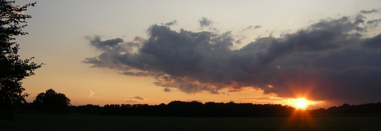 Abendhimmel @ 24. August 2014