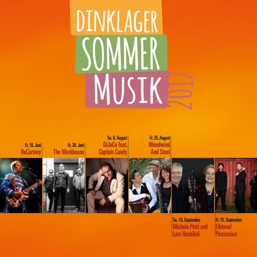 Flyer · Dinklager Musiksommer 2017