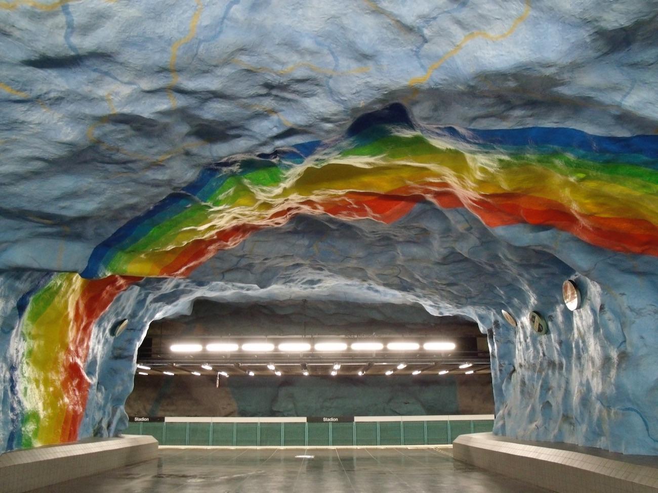Tunnelbanan Stockholm