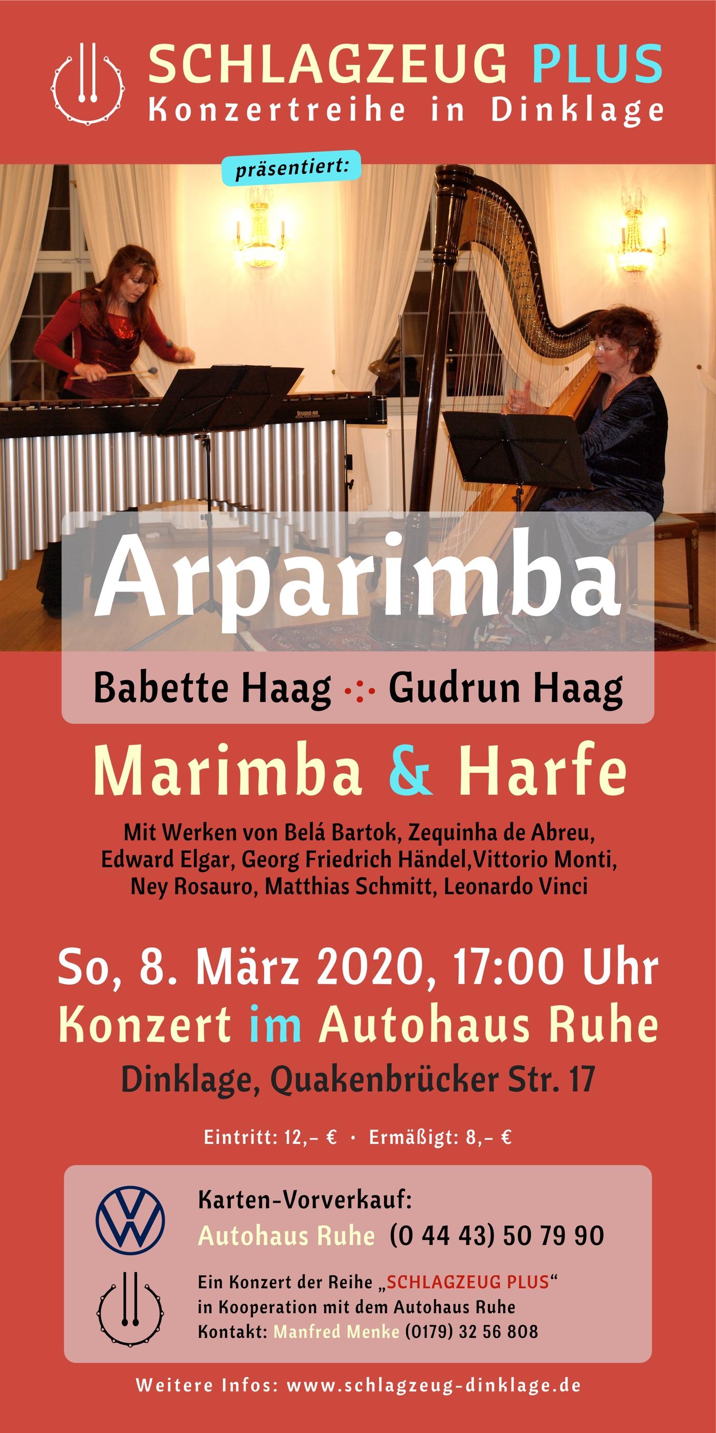 Plakat · ARPARIMBA · 8. März 2020