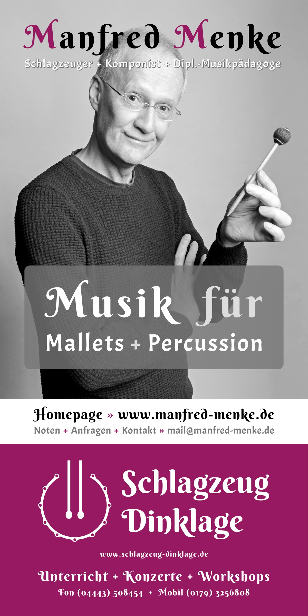 Flyer · Manfred Menke