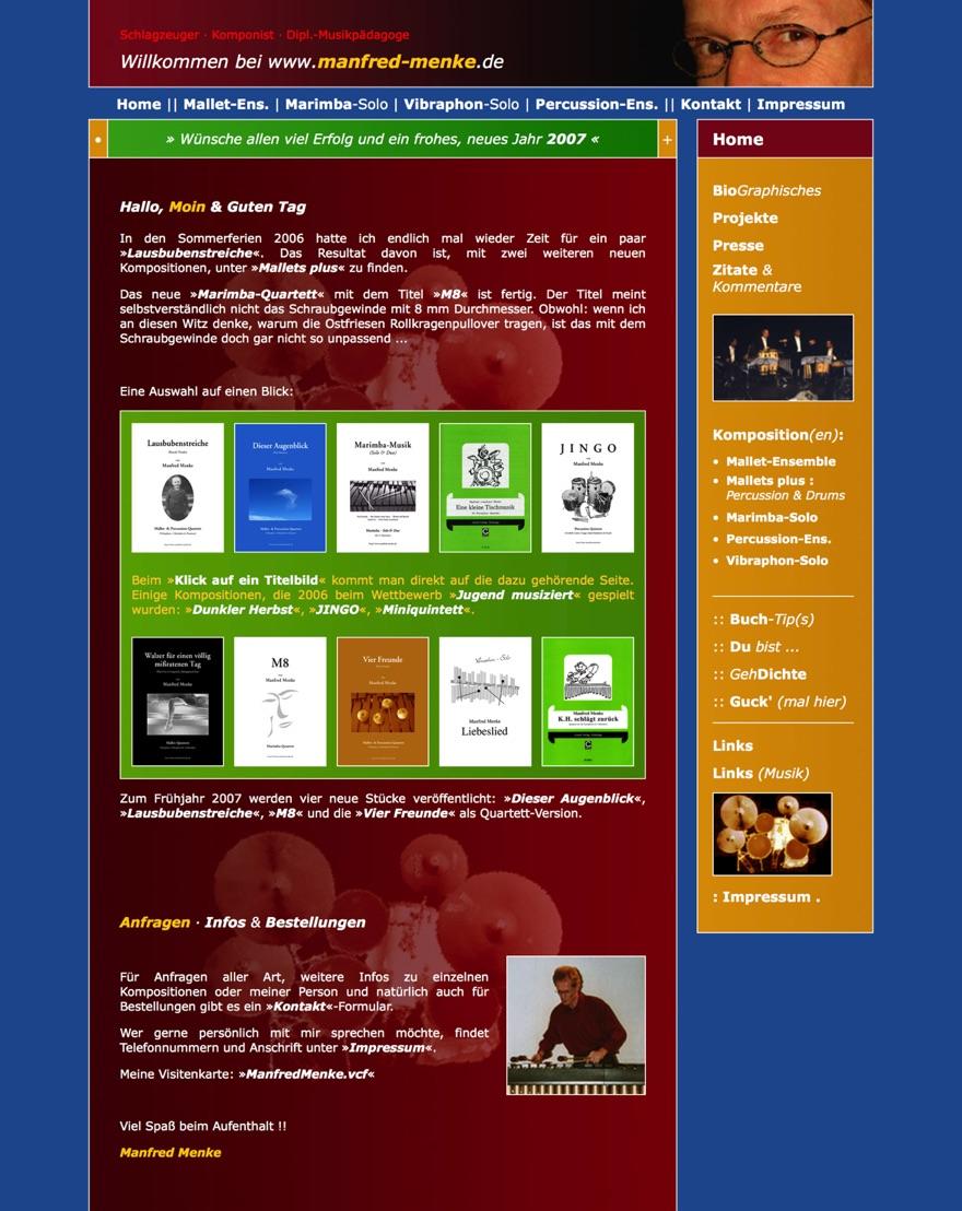 MM-Homepage 2007
