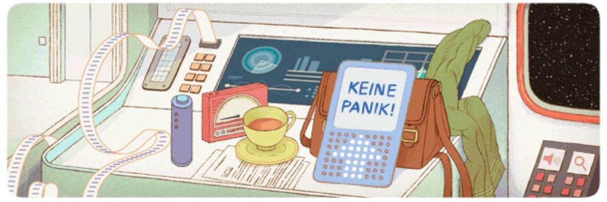 """Google-Doodle"" für Douglas Adams!"