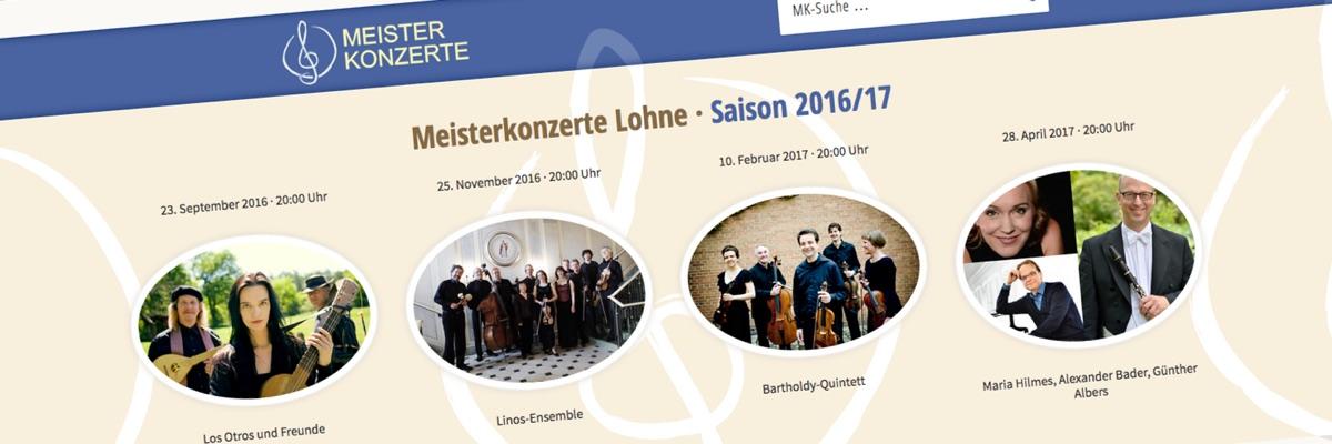 Meisterkonzerte · Saison 2016/17
