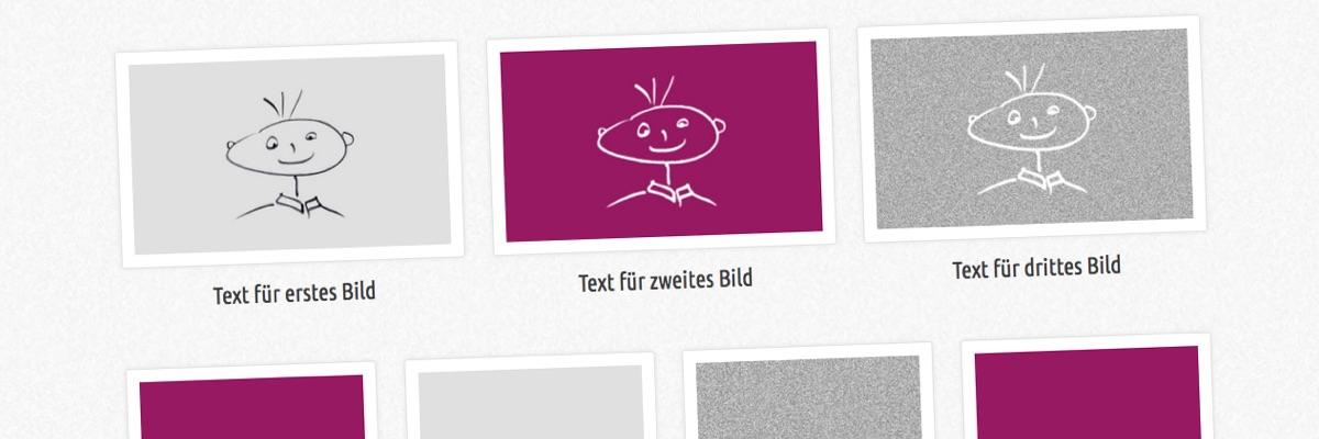 """Flexible Bildergalerie mit """"Kolumnen"""""""