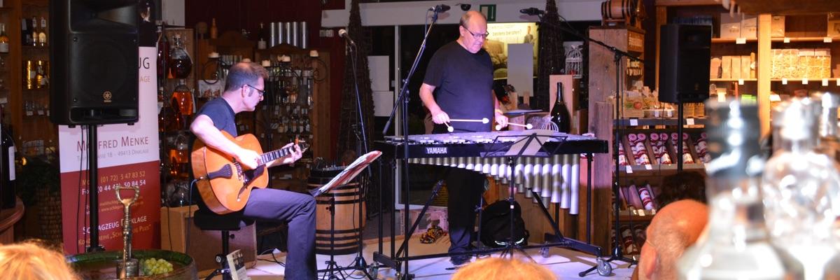 Konzertpremiere im Weinhaus Bücker