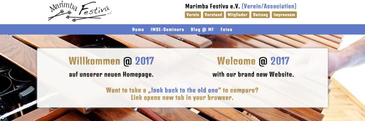 """""""Marimba Festiva"""" bekommt neues Design"""