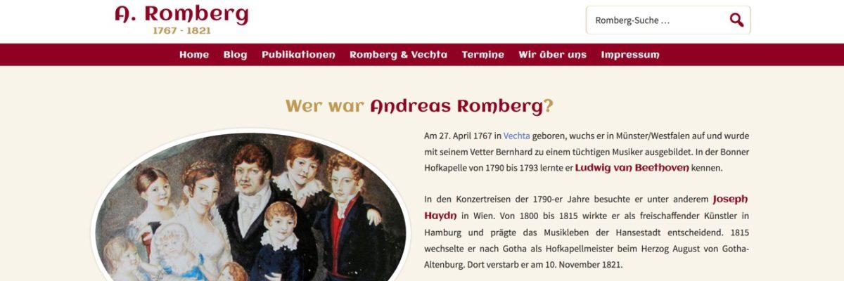 Neue Homepage zum Jubiläumsjahr